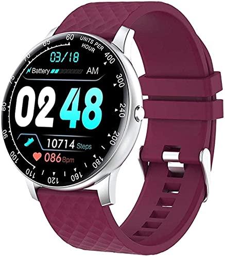 Reloj inteligente 1 3 pulgadas dedo completo hombres s y mujeres s pulsera Tracker deportes presión correa