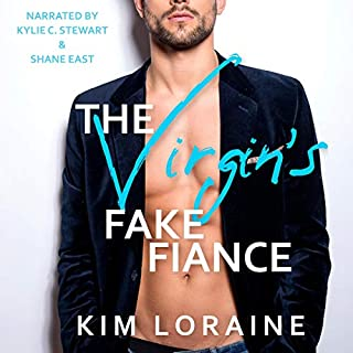 The Virgin's Fake Fiance  audiobook cover art