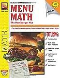 Menu Math: The Hamburger Hut Multiplication And Division
