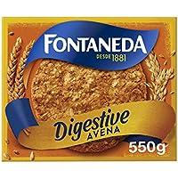 Fontaneda - Digestive Galletas con Avena, 550 g