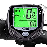 VARUN Wireless Bike Speedometer 16 Functions LCD Backlight Bicycle Odometer Waterproof Cycling Computer Fits All Bikes【Not Include Battery】…