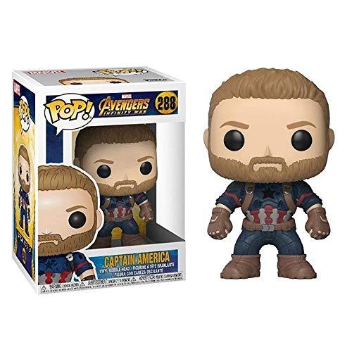 Marvel Avengers: Infinity War Captain America Modelo De Personaje Animado Doll