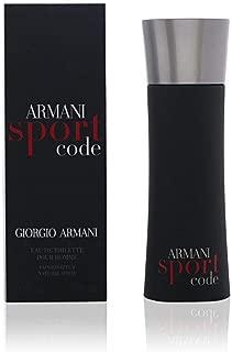 Giorgio Armani Armani Code Sport Men Eau De Toilette Spray, 1.7 Ounce