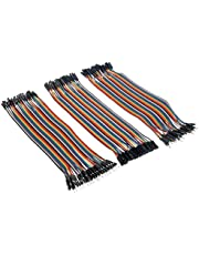 ApTechDeals Jumper Wires Male to Male, Male to Female, Female to Female/breadboard jumper wires
