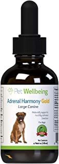 Pet Wellbeing - Adrenal Harmony - Natural Support for Adrenal Dysfunction and Cushing's in Dogs