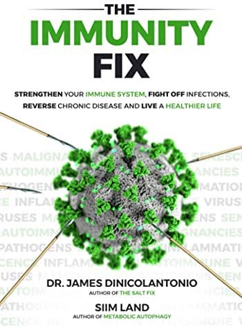The Immunity Fix Strengthen Your Immune System Fight Off Infections Reverse Chronic Disease product image