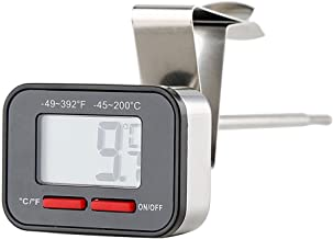 Acero Inoxidable A Prueba De Agua Bebida De Alimentos Termómetro De Café Termómetro Digital