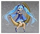 XIAOGING Anime Vocaloid Figma EX-037 Hatsune Miku Twinkle Snow Ver.Figura de acción de PVC Colección Modelo de colección Juguetes Brinquedos 14 cm
