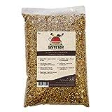Seedzbox Miscela di Alta Qualità per Uccelli - Mix di Semi e Noci - Mangime Naturale per Cocorite e Pappagallini Domestici - Semi di Miglio Rosso, Scagliola e Niger -Proteine e Fibre -Sacco da 1 Kg