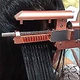 XHH 6D Profi Wärmezange Haar Extensions Iron Im Haar Salon Werkzeug Keine Spur Haar Erweiterung Maschine Hoch Qualität Verbinder Keratin Haar