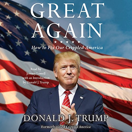 Great Again audiobook cover art
