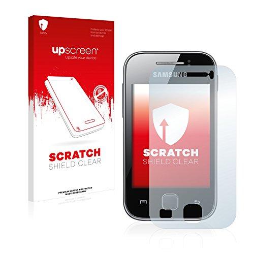 upscreen Pellicola Protettiva Compatibile con Samsung GT-S5369 Protezione Proteggi Schermo – Trasparente, Anti-Impronte