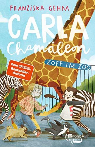Buchseite und Rezensionen zu 'Carla Chamäleon: Zoff im Zoo ' von Franziska Gehm
