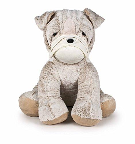 Famosa Softies - Peluche Bulldog, 70 cm, (860003672