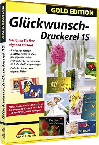 Glückwunsch Druckerei 15 - Karten selbst gestalen Geburtstag, Hochzeit, Geburt, Taufe Konfirmation für Windows 10 / 8.1 / 8 / 7