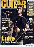 GUITAR PART [No 136] du 01/07/2005 - MASTERCLASS - PATRICK RONDAT - BILLY CORGAN -...
