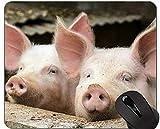 Schneiden Sie Schwein Mousepad, Tiermausunterlagen