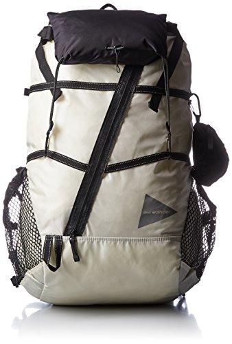 [アンドワンダー] 40L backpack AW-AA911 01white One Size