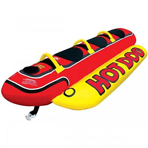 Airhead Hot Dog 3 Towable - Wassergleiter Banane für 3 Personen