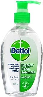 Dettol Instant Liquid Hand Sanitizer Chamomile Anti-Bacterial, 200ml