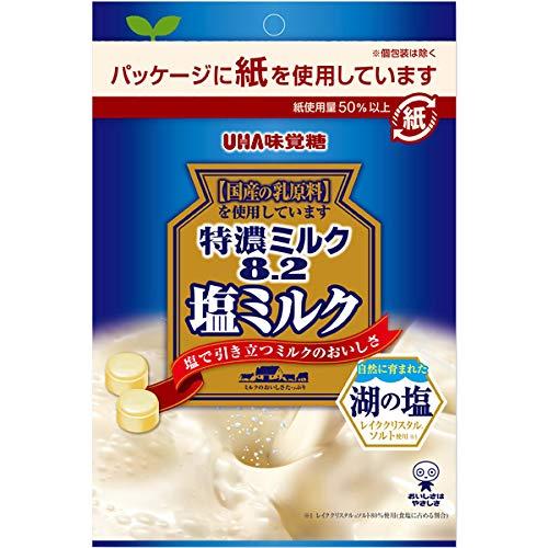 UHA味覚糖 特濃ミルク8.2 塩ミルク 72g×72個入り (1ケース)