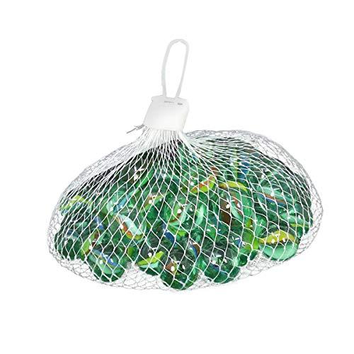 Winice - Biglie di vetro marbless per sport all'aria aperta, 50 pezzi