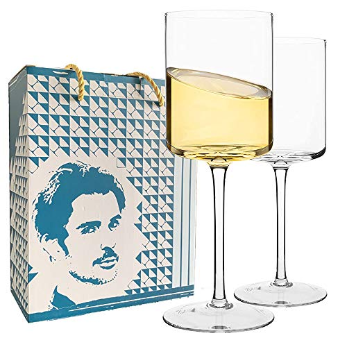 Copas de vino rectas 2 cajas de color, copas de vino de 15 onzas, fiestas, reuniones familiares, cajas de regalo