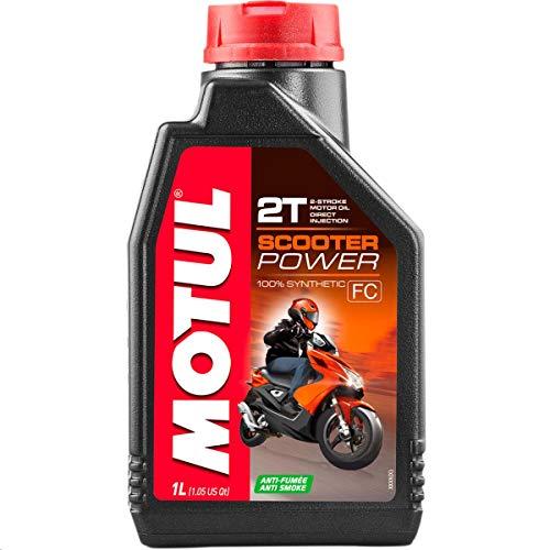 Motul Scooter Power 2T - Aceite para motor, 1 litro