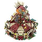 TENHORSES Legend of Zelda: Breath of The Wild Architecture Bloques de construcción para adultos, modelo de colección, juego de construcción para adultos 2000 + piezas compatibles con Lego Hogar