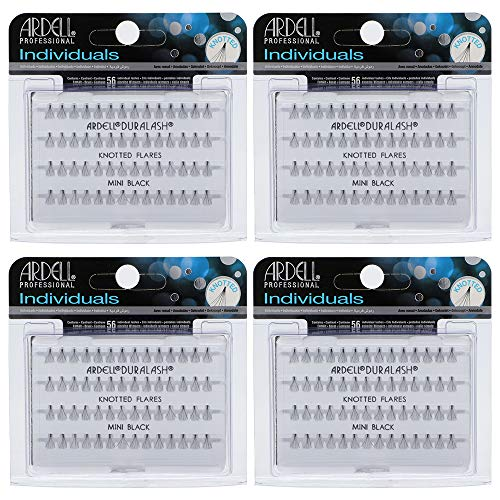 Ardell False Eyelashes Mini Black (Lower Lash) 4 Pack