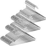 Perchas de Acero Inoxidable - JUNING 60 pcs Suspensiones de Alambre Fuerte de...