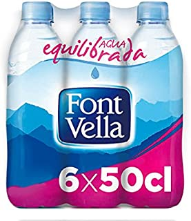 Font Vella Agua Mineral Natural - Pack 6 x 50cl