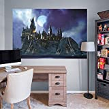 FATHEAD Harry Potter: Hogwarts Castle Mural - Officially Licensed Removable Wall Decal
