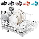 Rottogoon Aluminum Dish Drying Rack, 16.5' x 11.8' Compact...