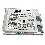 3AAA yz140eaa-t5-c Fluorecent de CA 40W lámpara balastro electrónico para lámpara T5anillo rectificadores estándar, color blanco