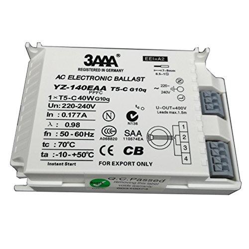 3AAA YZ140EAA-T5-C fluoreszierende Lampe, elektronisches Vorschaltgerät für T5-Ringlampe, Standard-Gleichrichter, weiße Farbe