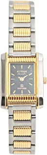 Casual Watch for Women by Accurate, Silver, Rectangle, ALQ771S