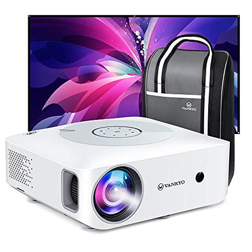 VANKYO Leisure 530W Proiettore WiFi, Videoproiettore 1080P Nativo Full HD Supporta 4K, 7500 Lux, Touch Pannello Retroilluminato, per TV Stick Chromecast iPhone Android PC PS4