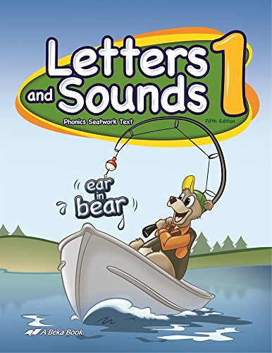 Letters and Sounds 1 - Abeka 1st Grade 1 Phonics and Reading Development Student Work Text