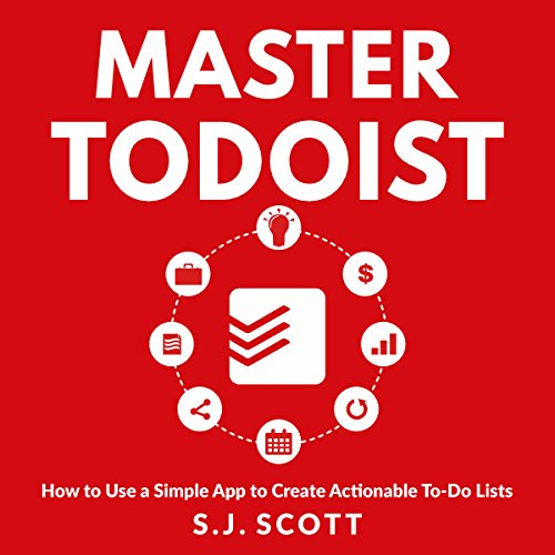 Master Todoist audiobook cover art