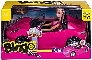 دمية بوبي مع مجسم سيارة من بينجو