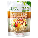 So Natural Freeze Dried Peaches, 6 packages of 0.7 Ounces Each