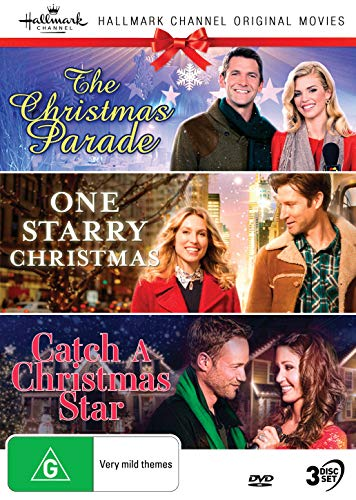 Hallmark Christmas 3 Film Collection (The Christmas Parade/One Starry Christmas/Catch a Christmas Star)