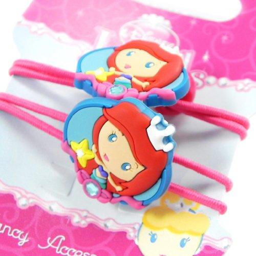 Princess Jewels [H7304] - Paire d'élastiques 'Princess Jewels' turquoise rose