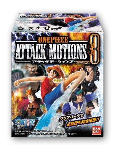 ONE PIECE Attack Motions chap.3 Figurine: Nico Robin + Monkey D. Ruffy + Smoker + Marco + Aokiji Kuzan