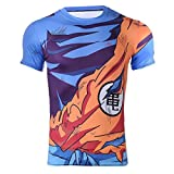 CoolChange Camiseta de Super Sayajin, Talla: S