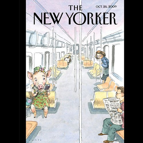 The New Yorker, October 26, 2009 (Jane Meyer, Christine Kenneally, Jonathan Lethem) cover art