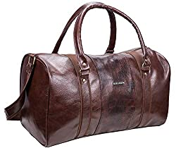 KILLER Polyester 11 inch Travel Duffle (400172830007_Brown),400172830007