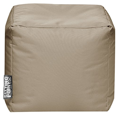 SITTING POINT only by MAGMA Sitzsack Scuba Cube 40x40x40cm Khaki (Outdoor)