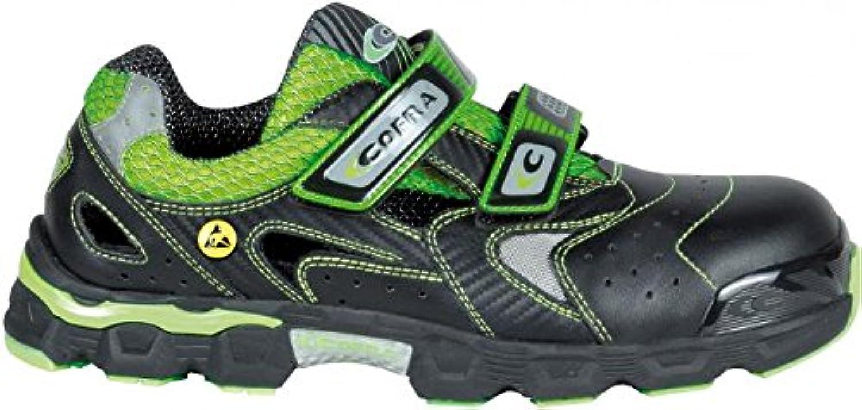Cofra JE029-000.W40 Size 40 CIello  S1 P ESD SRC Safety shoes - Black Green